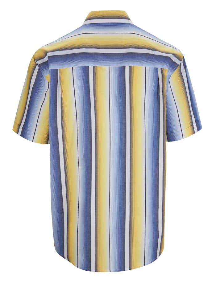 Košeľa v pútavom farebnom vzhľade