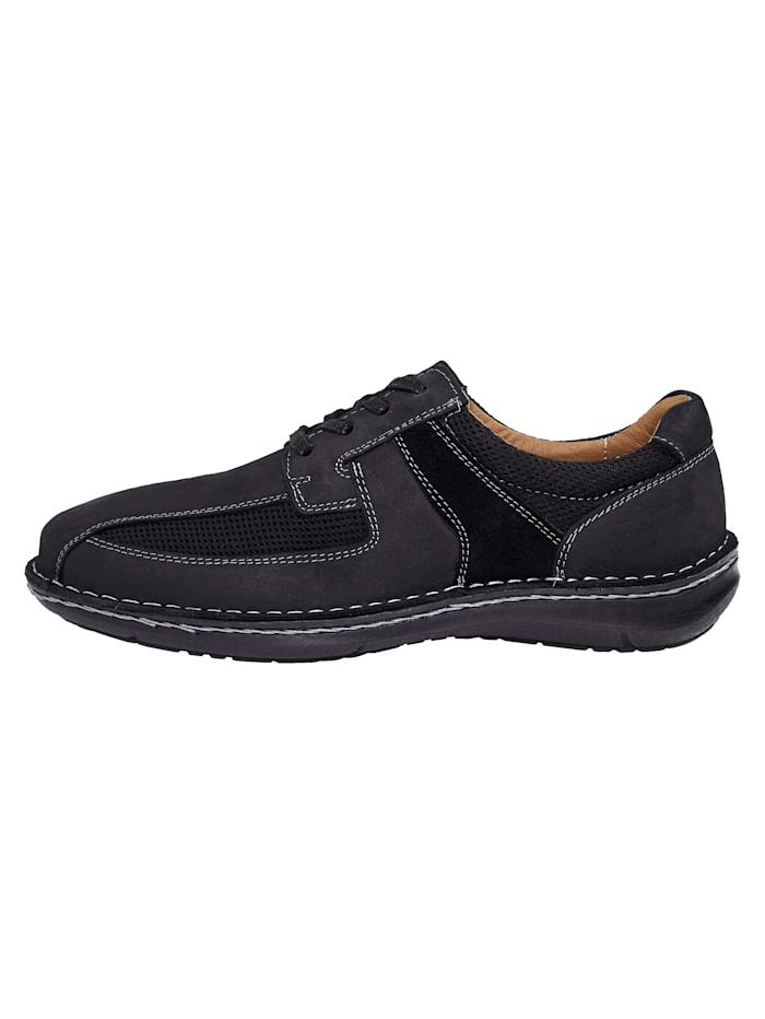 Šněrovací boty s letním mesh