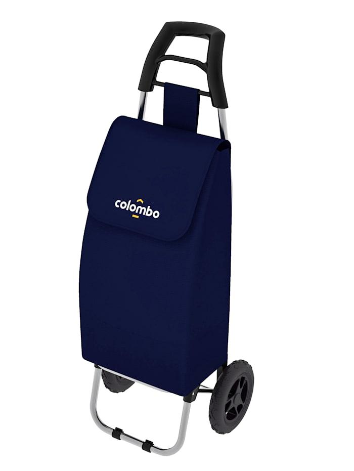 Nákupný vozík, Modrá
