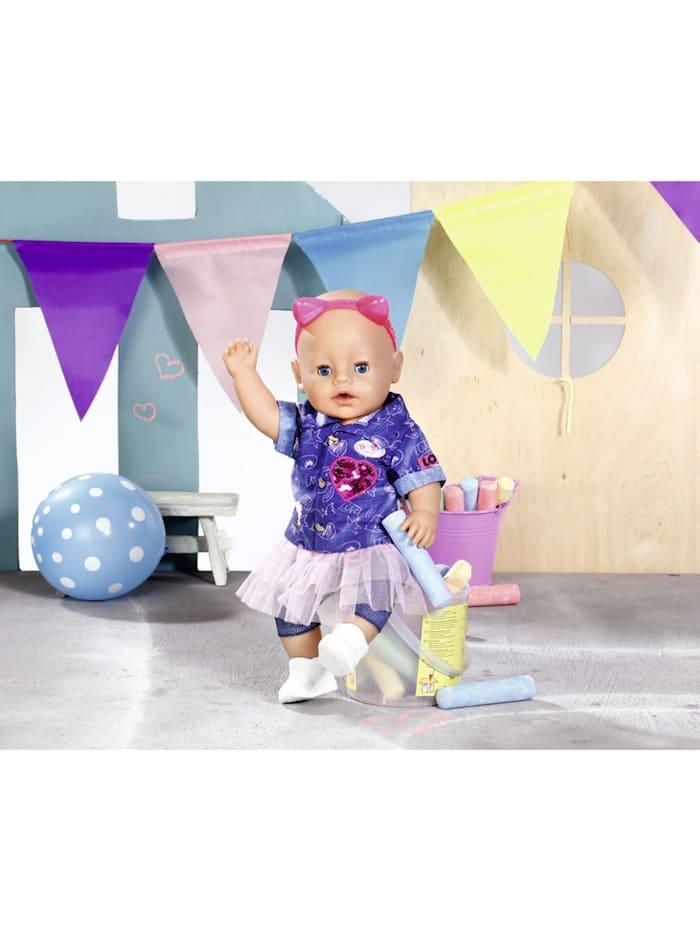 Puppenzubehör BABY born® Deluxe Jeans Kleid Set