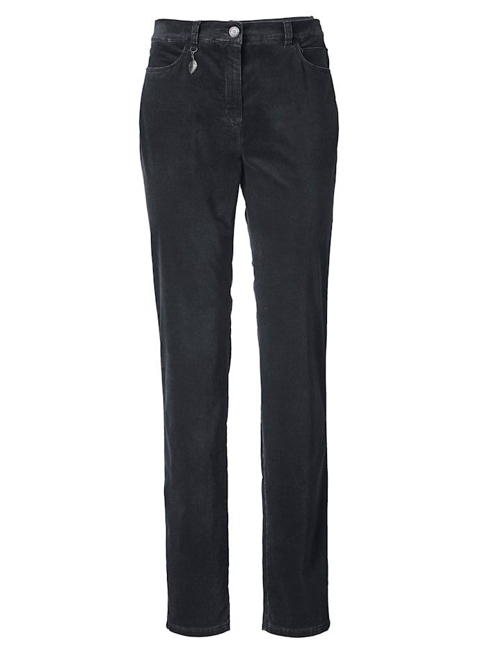Trousers made of soft sturdy velvet