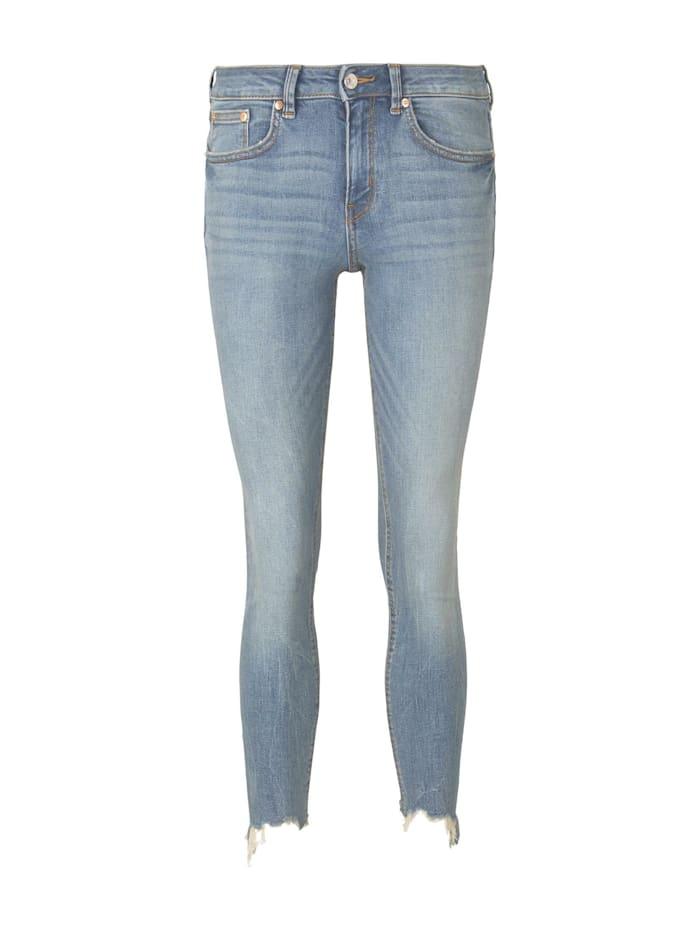 Jona Extra Skinny Jeans mit Fransen