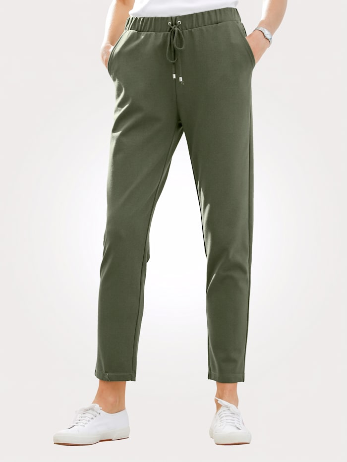 Trousers in a comfortable pull-on style