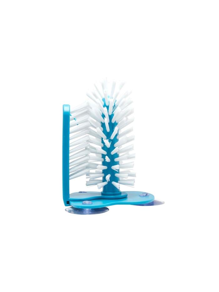 Neuetischkultur Spülbürste Gläser mit 3 Saugnäpfen, Hellblau