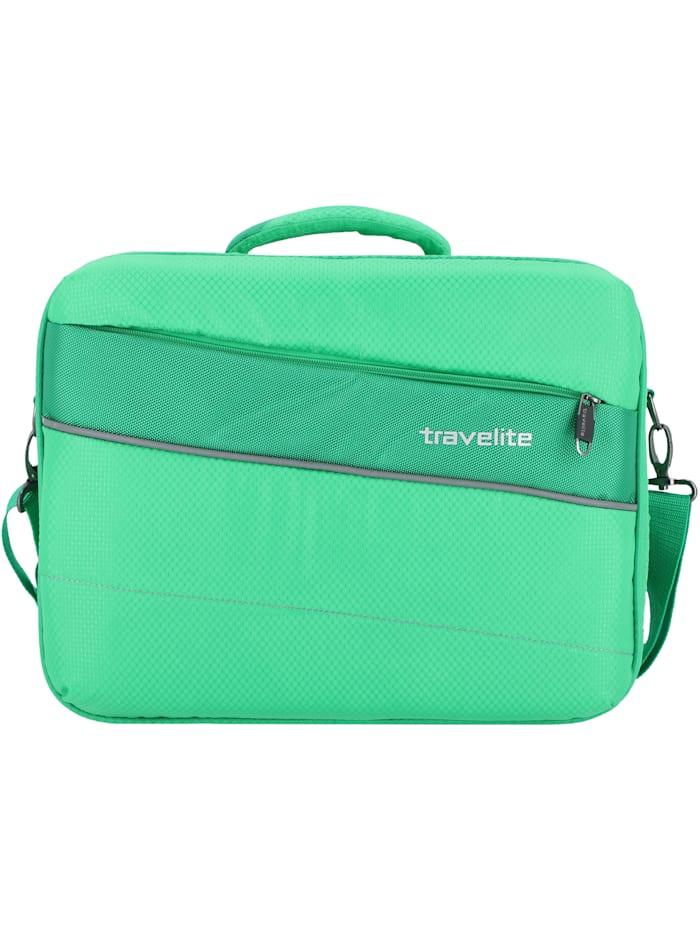 Travelite Kite Flugumhänger 41 cm Laptopfach Tragegriff, grasgrün