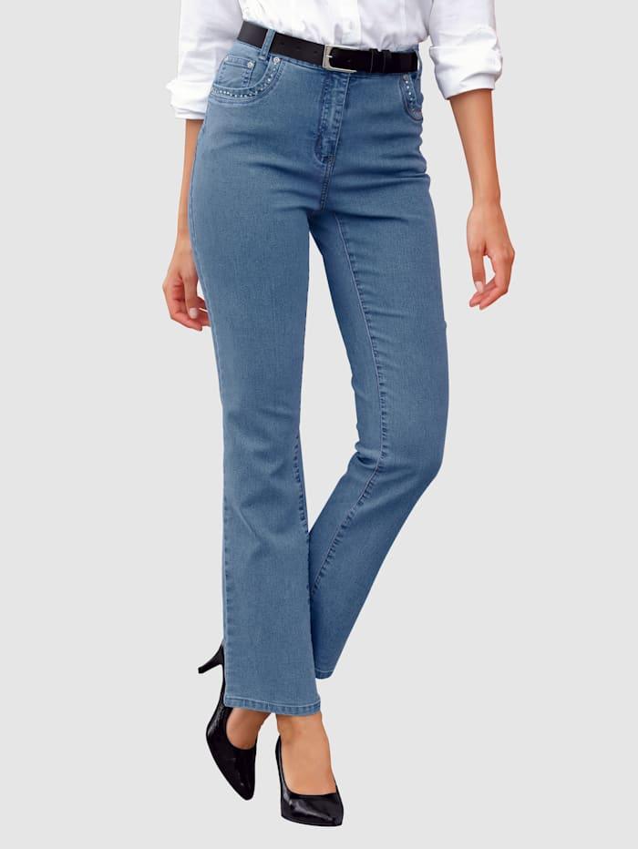 Laura Kent Jeans geeignet für Autofahrer, Hellblau