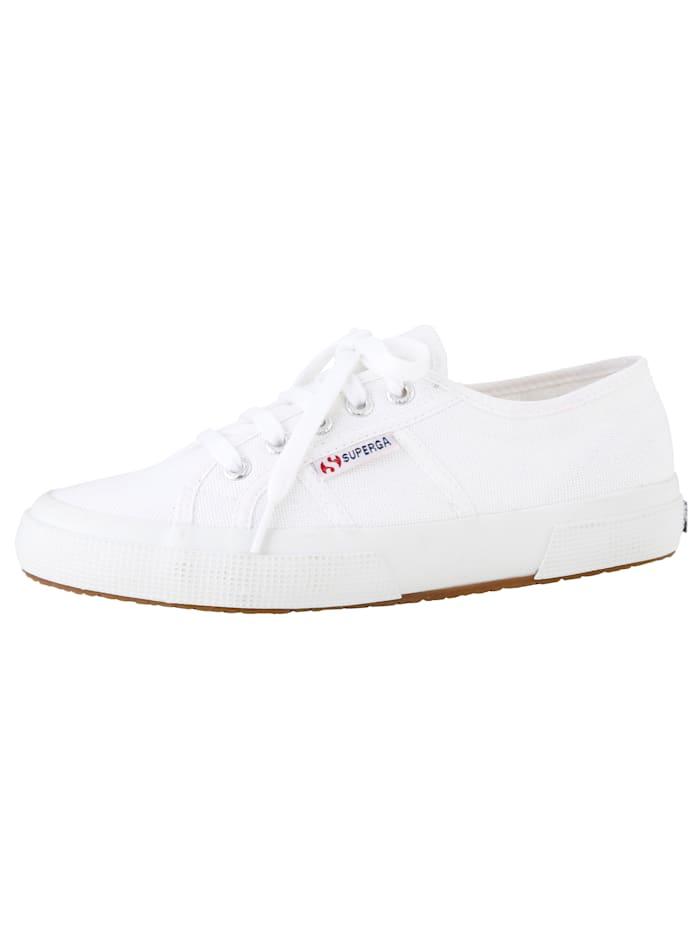 Superga Šnurovacia obuv, Biela