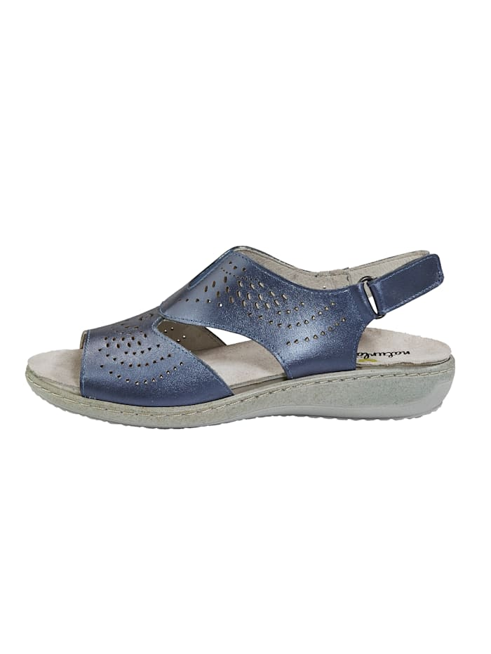 Sandale mit sommerlicher Lochung