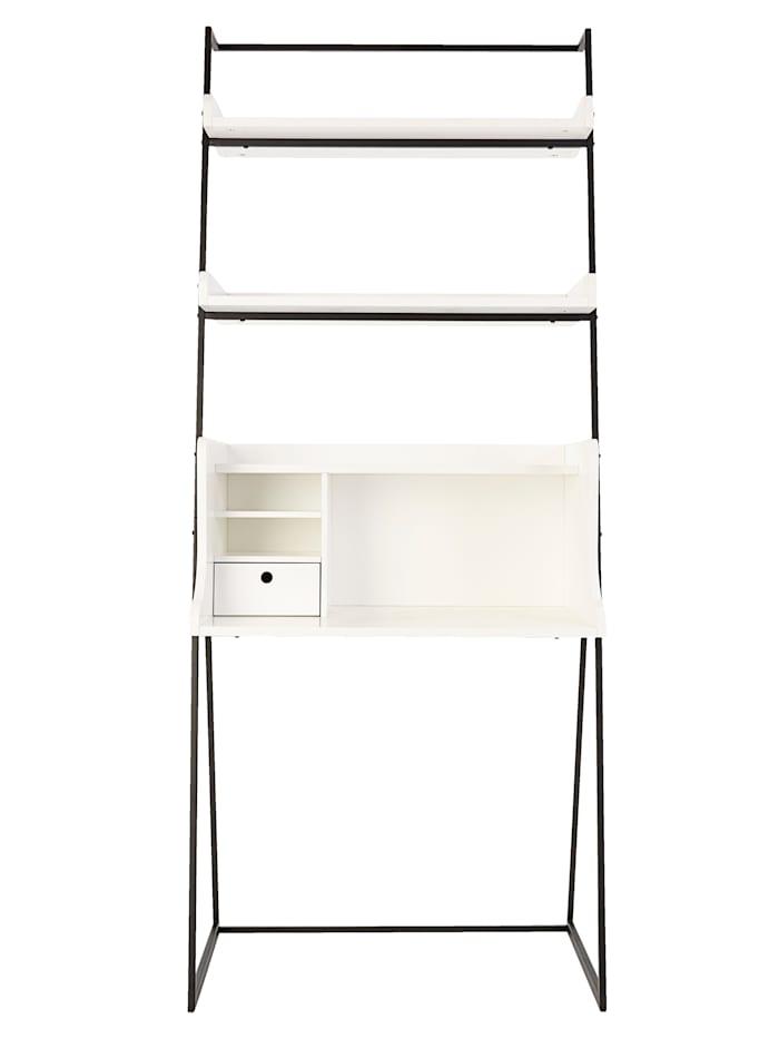 IMPRESSIONEN living Schreibtisch, Weiß/Schwarz