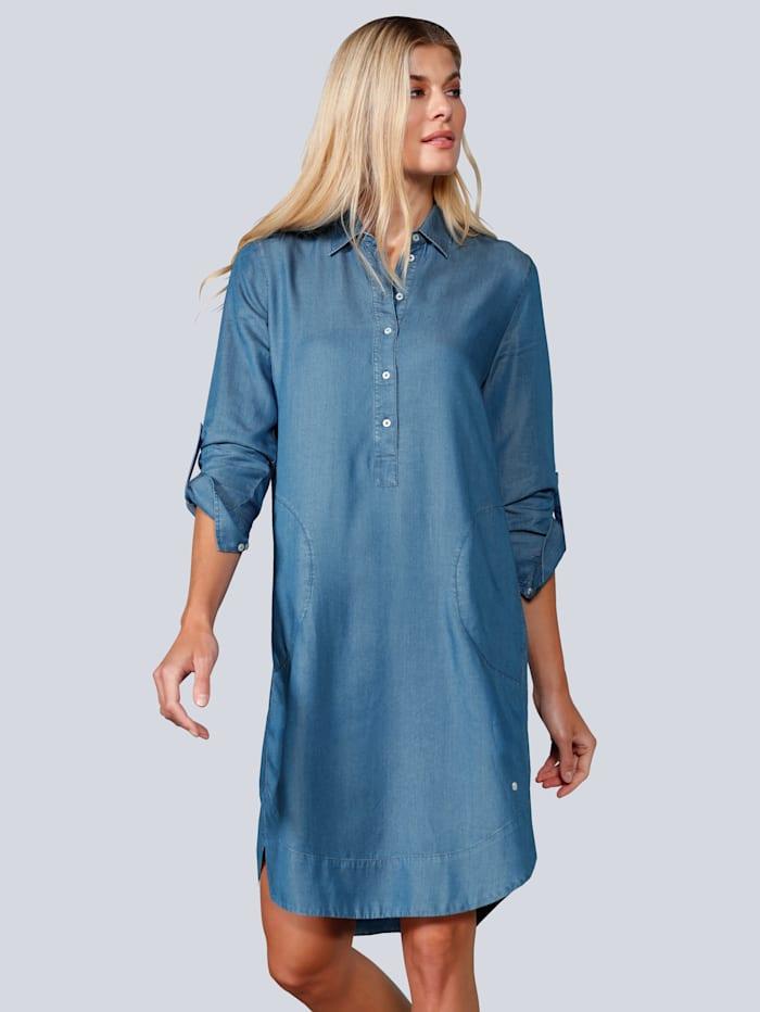 BRAX Kleid in Tencelware, Blau