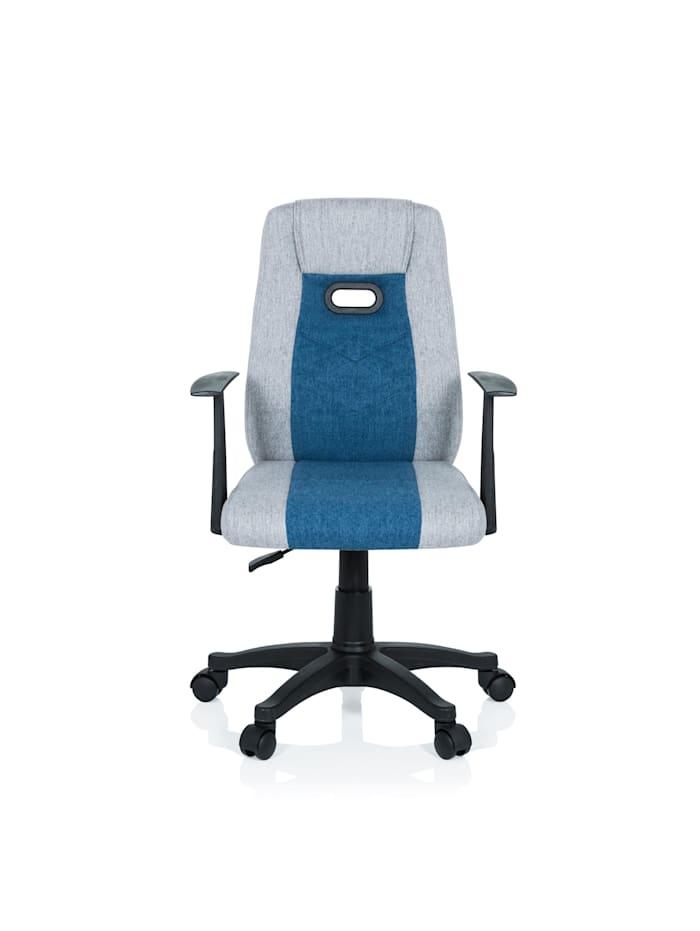 hjh OFFICE Kinderdrehstuhl KIDDY EXTRA, Grau / Blau
