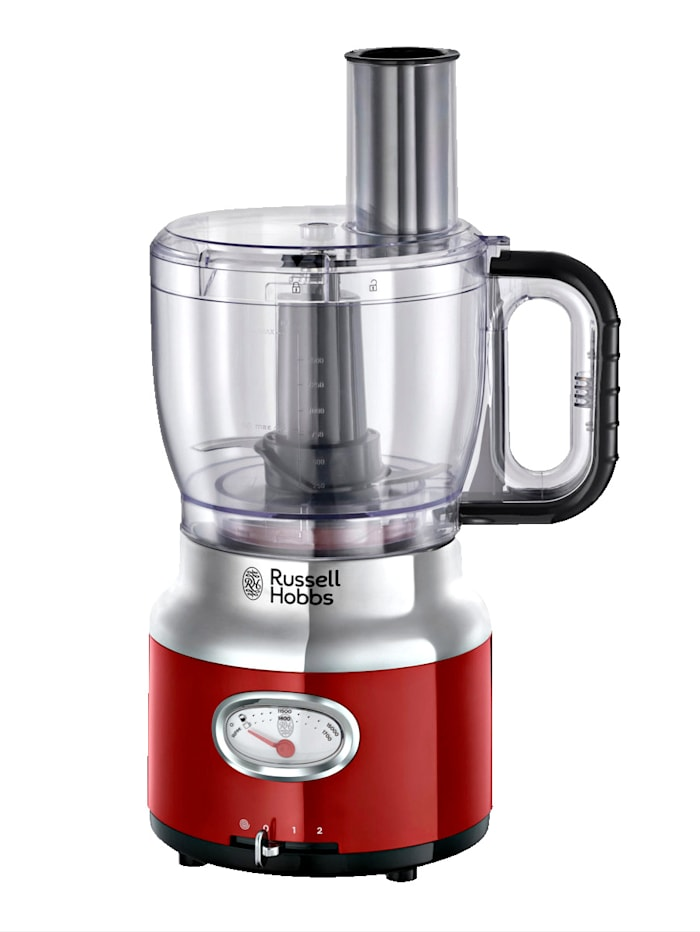 Russell Hobbs Russell Hobbs Food Processor 'Retro Ribbon Red' 25180-56, rot