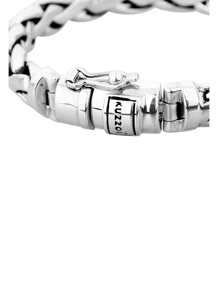 Armband Herren Basic Panzerarmband Cool Robust 925 Silber