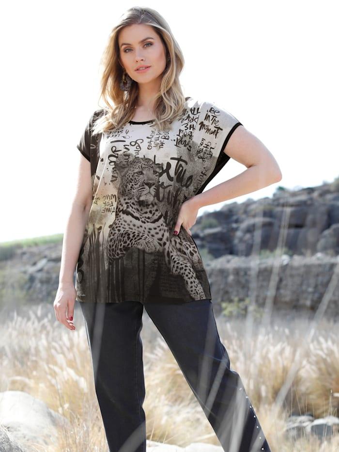 Shirt mit Leopardendruck
