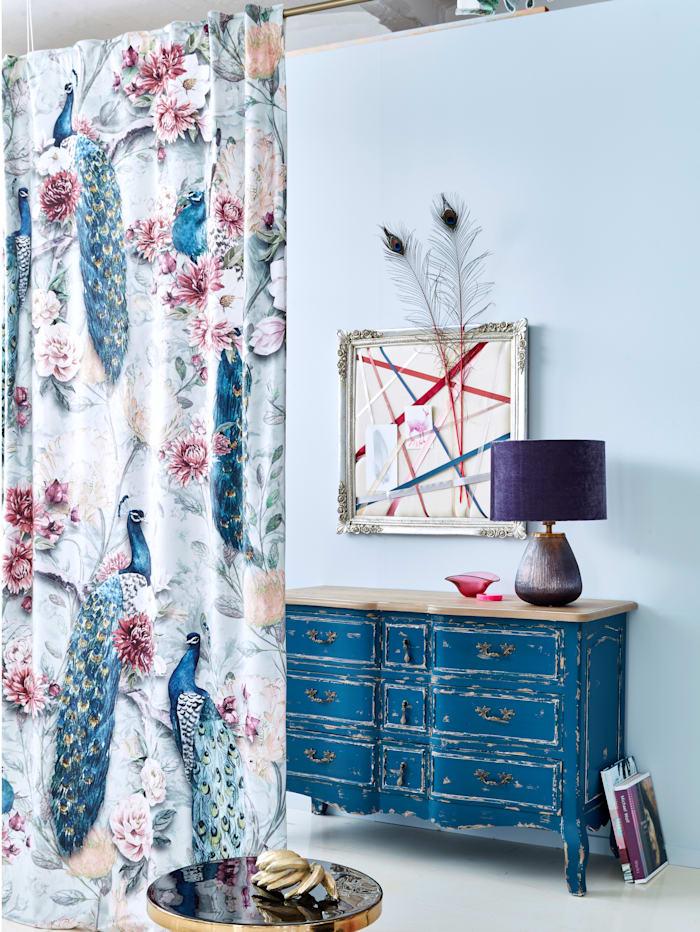 IMPRESSIONEN living Vorhang-Set, 2-tlg., Samt, Multicolor