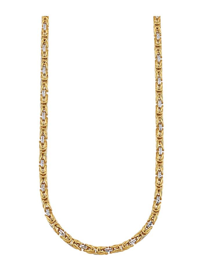 Diemer Gold Königskette in Gelbgold 585, Gelbgoldfarben