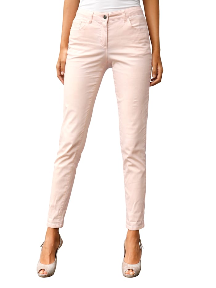 AMY VERMONT Broek in smal model, Roze