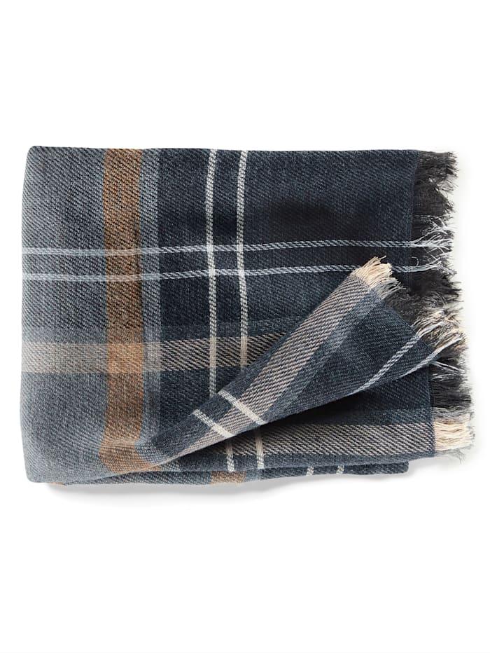 BABISTA Sjaal met warme wol, blauw