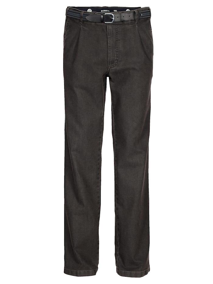 BABISTA Jeans met riem, Bruin