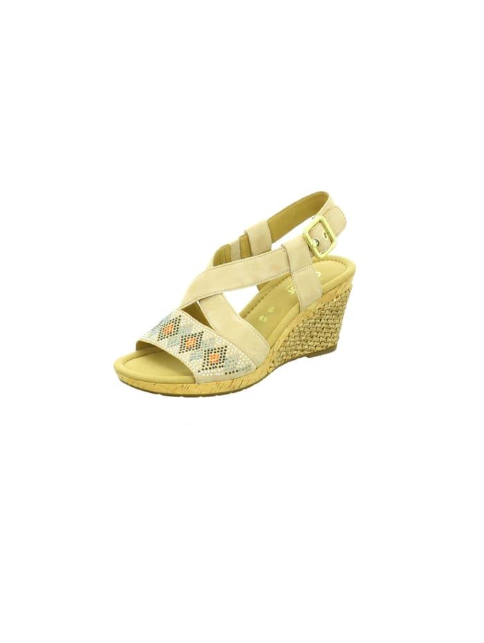 Gabor Sandalen/Sandaletten, beige