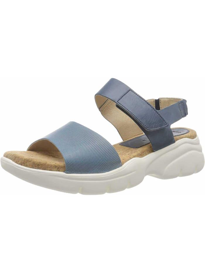 camel active Damen Sandale in blau, blau