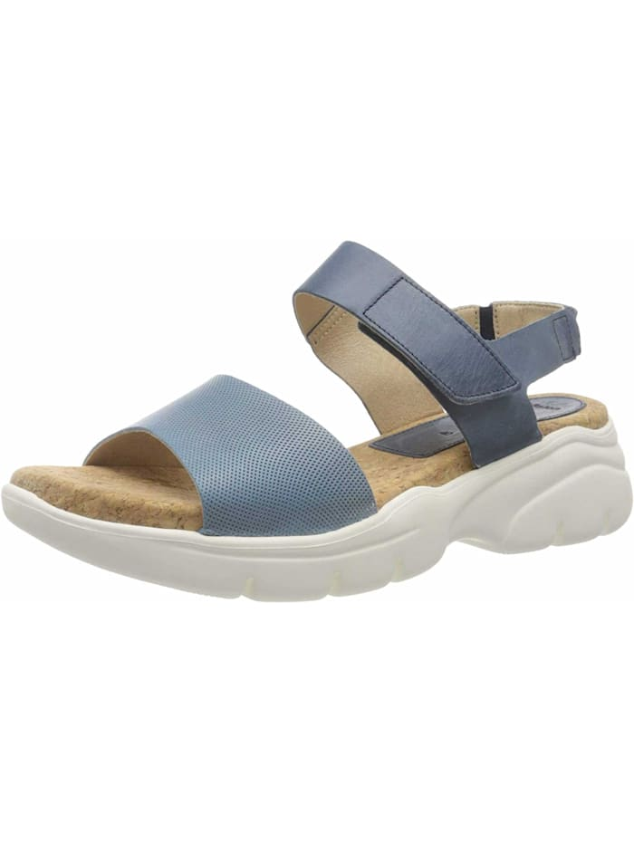camel active Sandalen/Sandaletten, blau