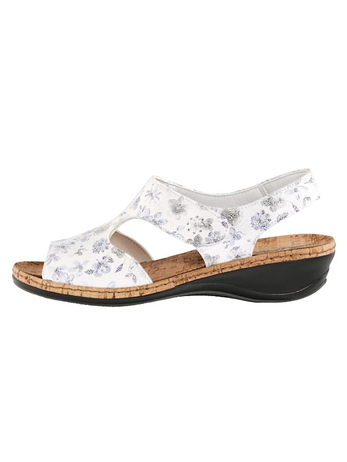 Sandaaltje met comfortabel kurken voetbed