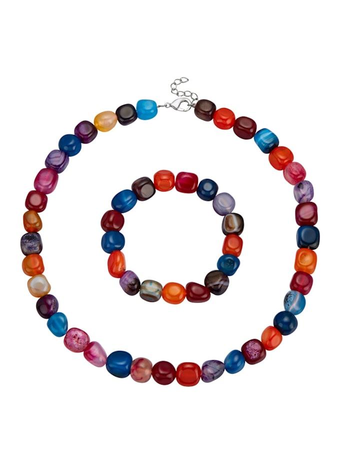2-delige sieradenset, Multicolor