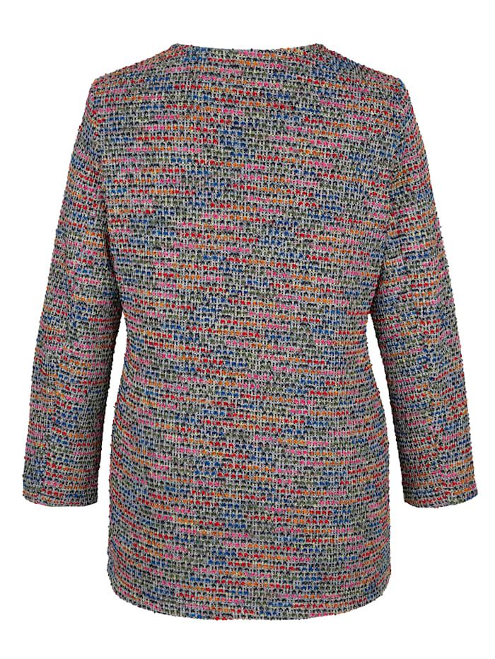 Jacke aus Bouclé-Garn