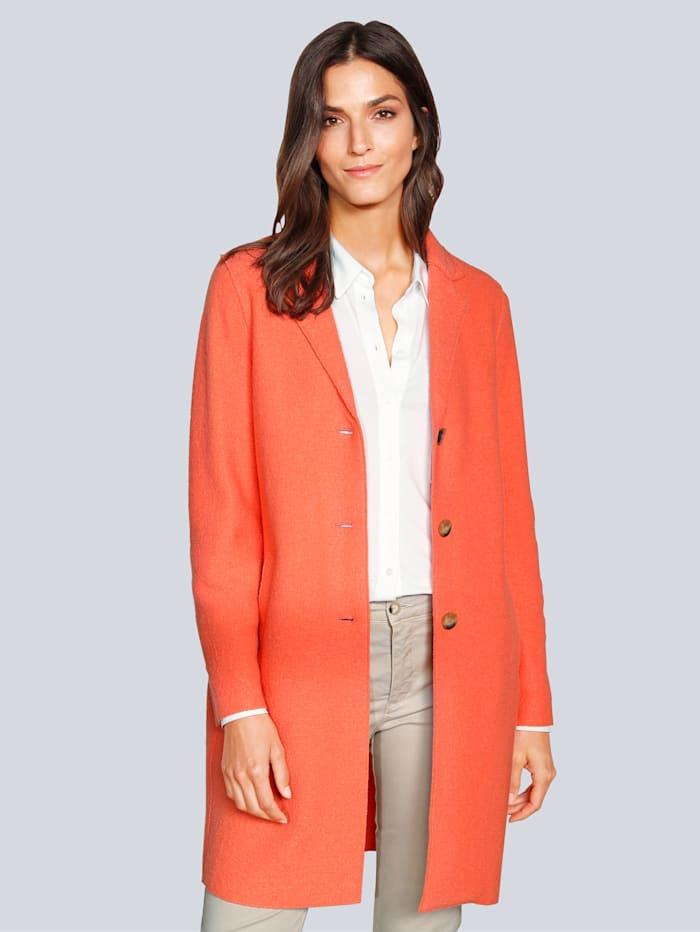 OUI Mantel in modischer Farbe, Orange