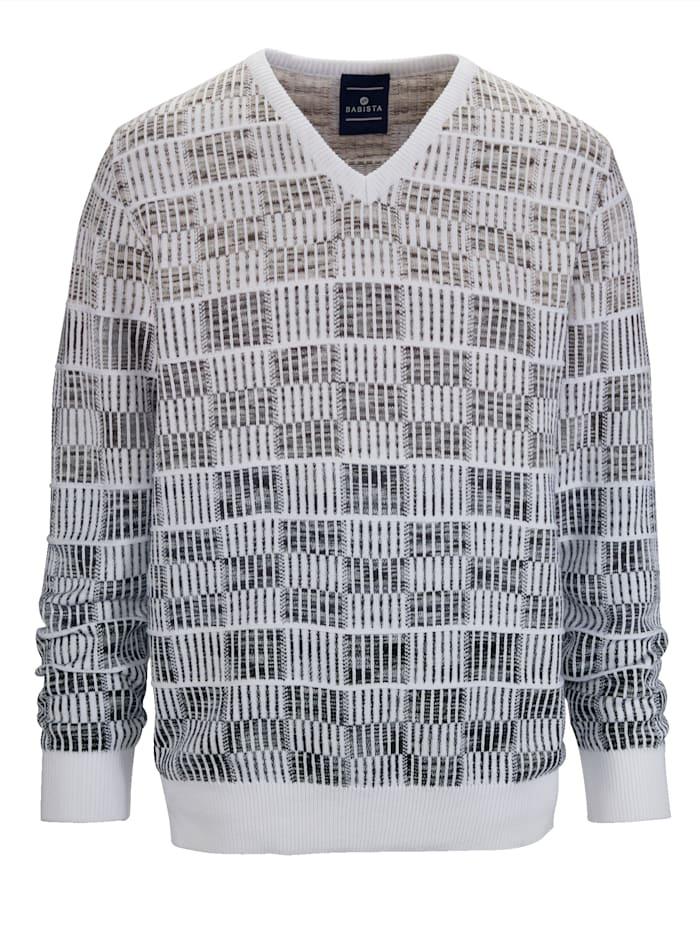 Pullover mit hochwertigem Jacquard-Muster