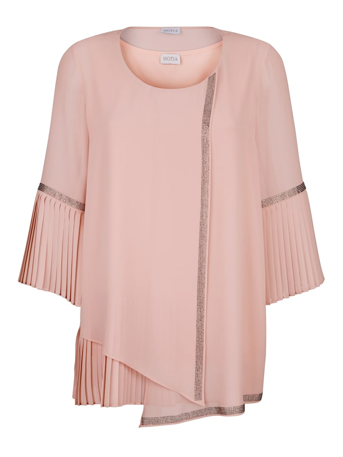 Set bestaande uit een blouse en een topje