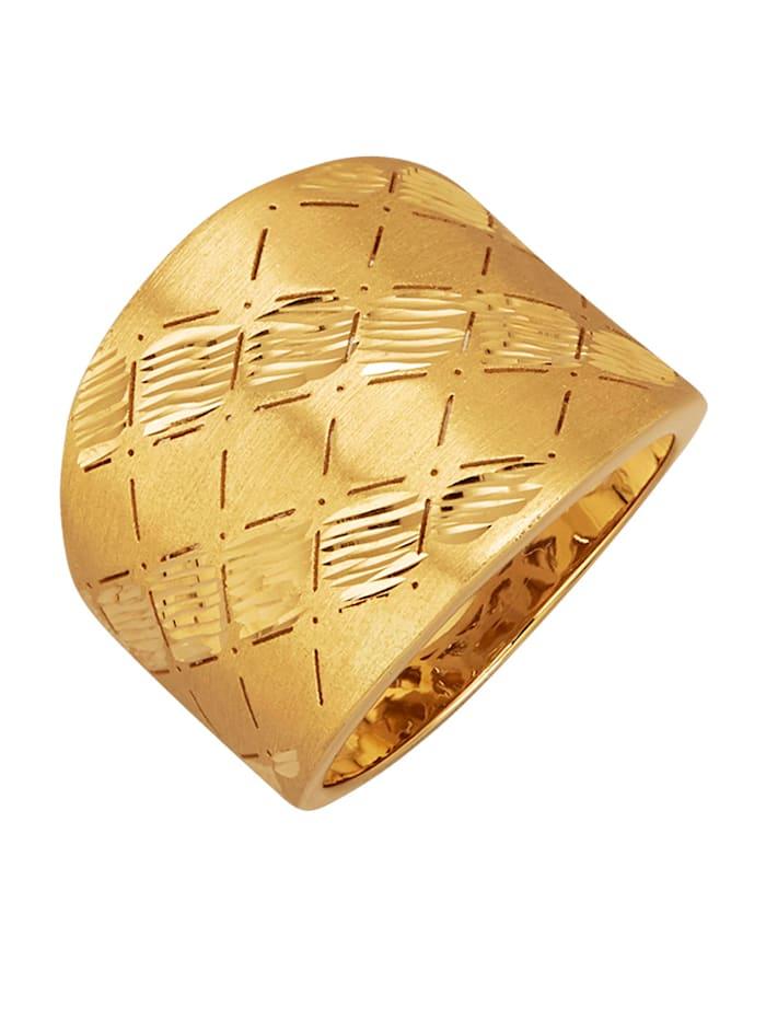 Diemer Gold Damesring van 14 kt. goud, Geelgoudkleur