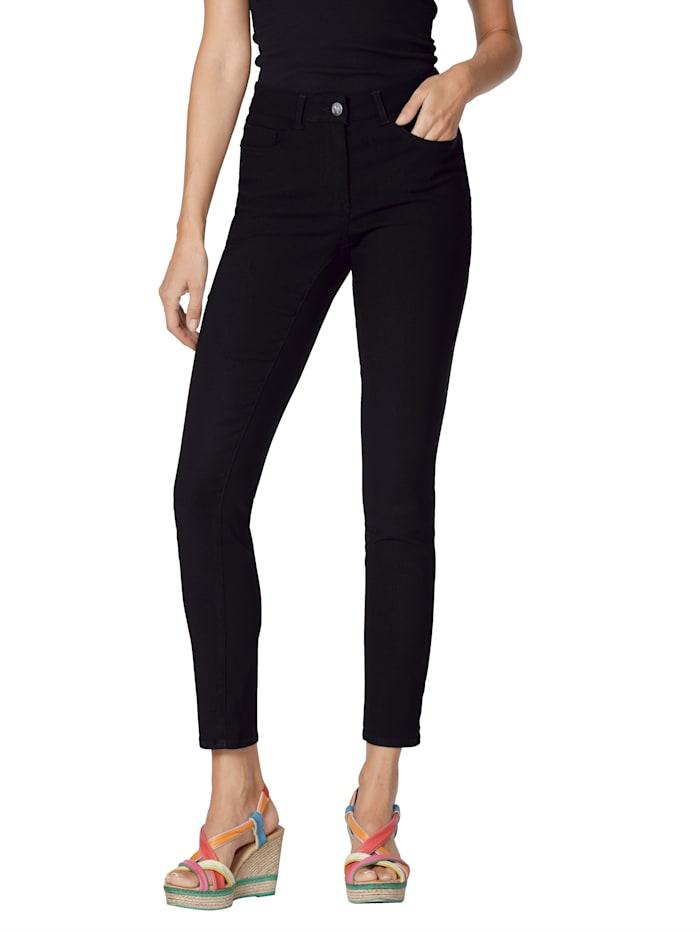 AMY VERMONT Jeans van elastisch materiaal, Zwart