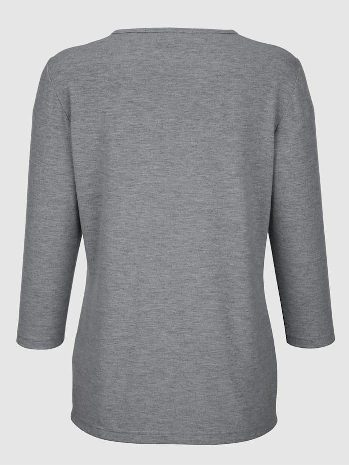 Shirt met bijzondere details