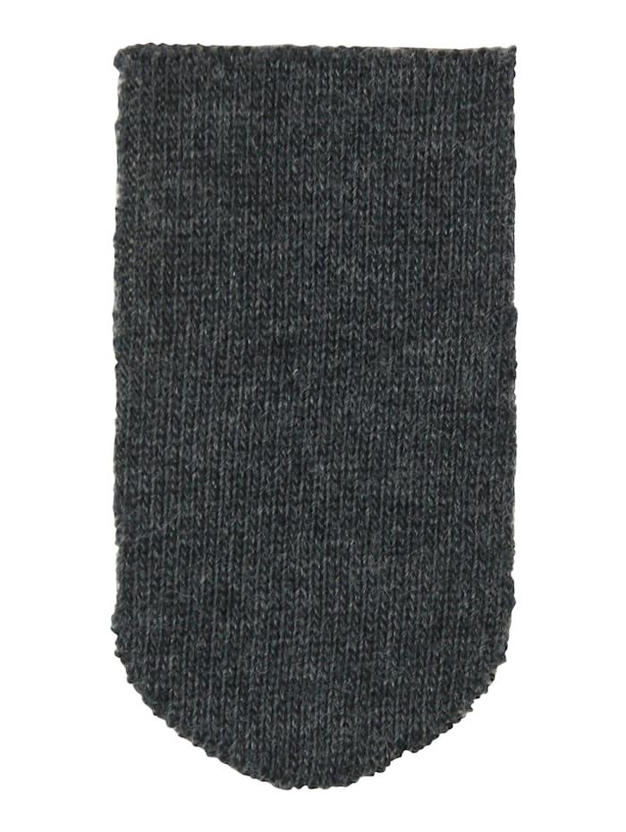 Esda Chaussettes unisexes avec tige et haut de tige larges, Gris