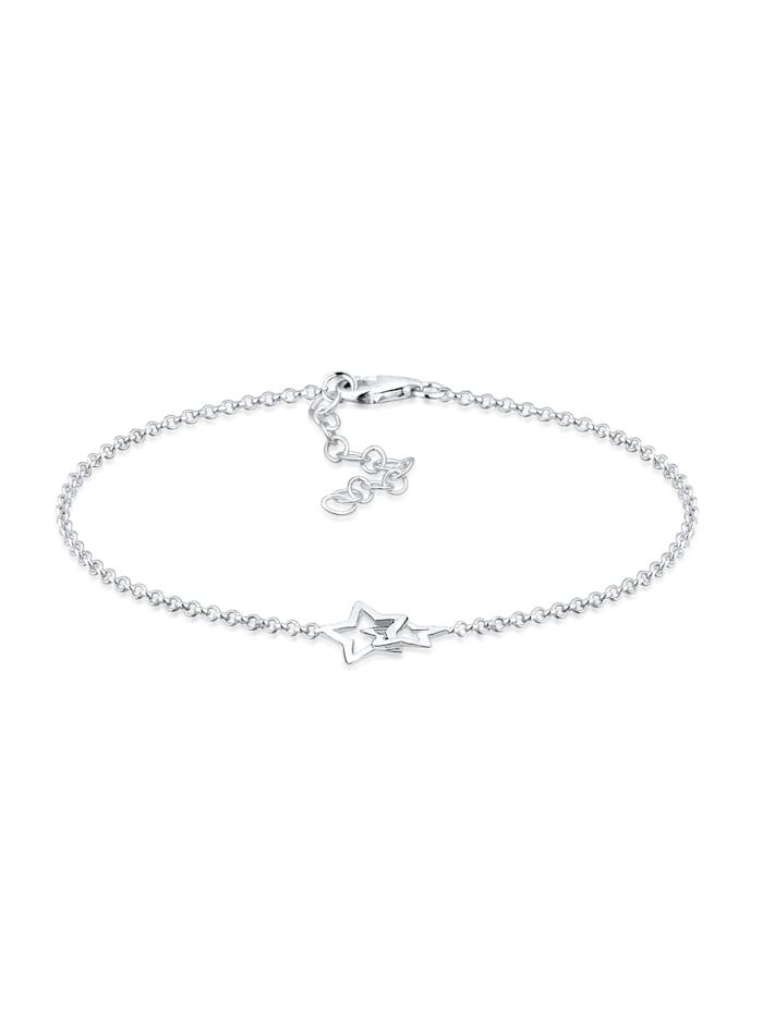 Elli Armband Stern 925 Sterling Silber, Silber
