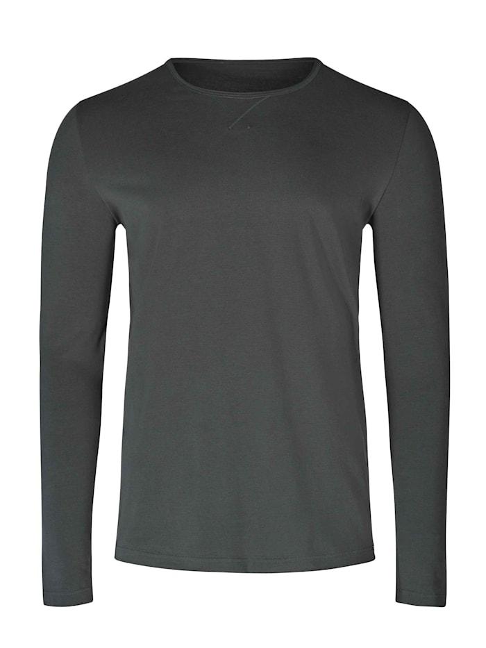 Skiny Langarm-Shirt, dark bean
