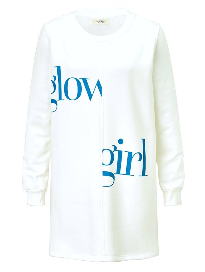 CONLEYS PURPLE Sweatshirt, Weiß