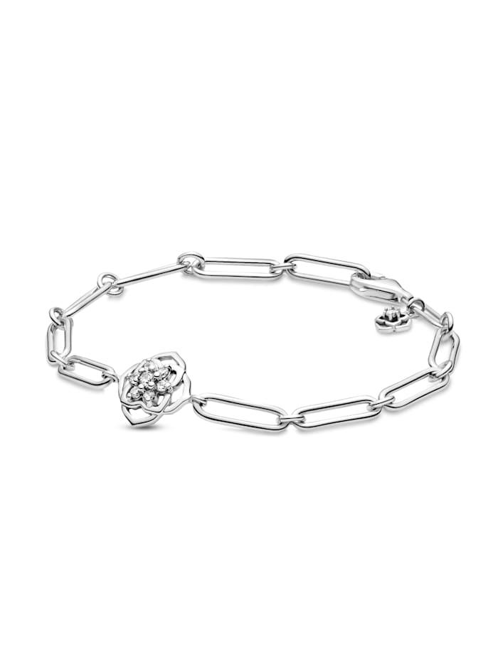Pandora Armband -Rosenblätter- 599409C01, Silberfarben