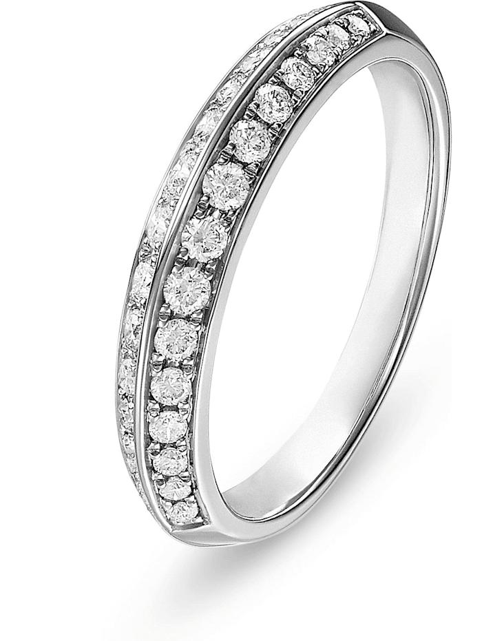 CHRIST Diamonds CHRIST Diamonds Damen-Damenring 585er Weißgold 30 Diamant, Weißgold