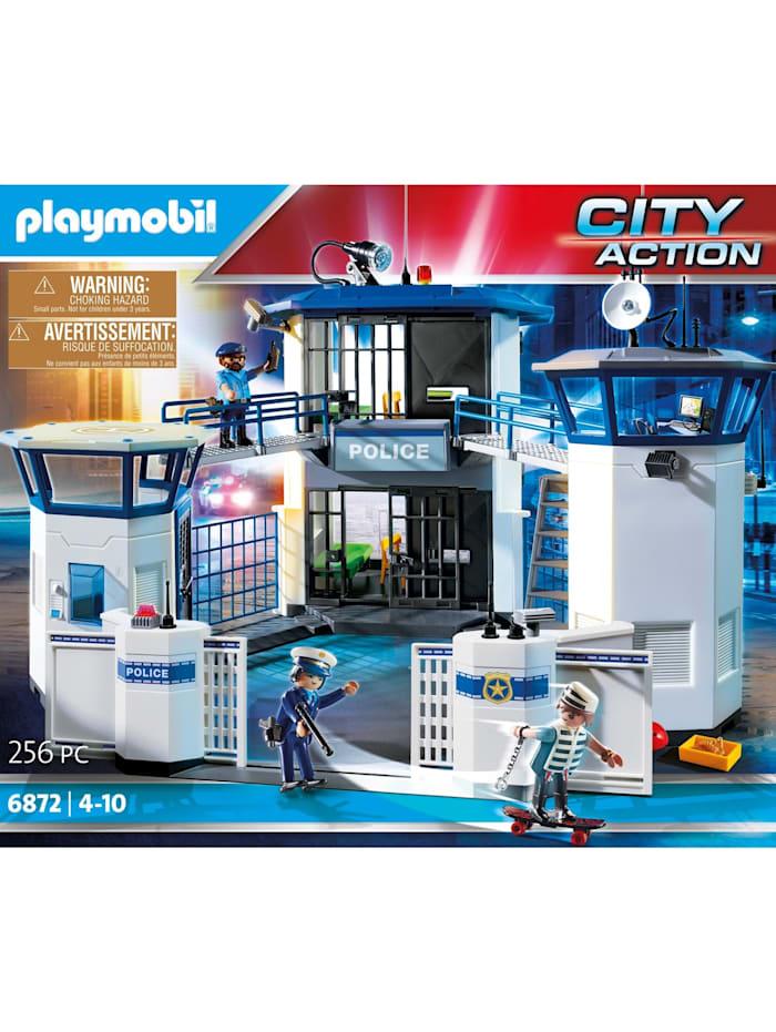 Konstruktionsspielzeug Polizei-Kommandozentrale mit Gefängnis