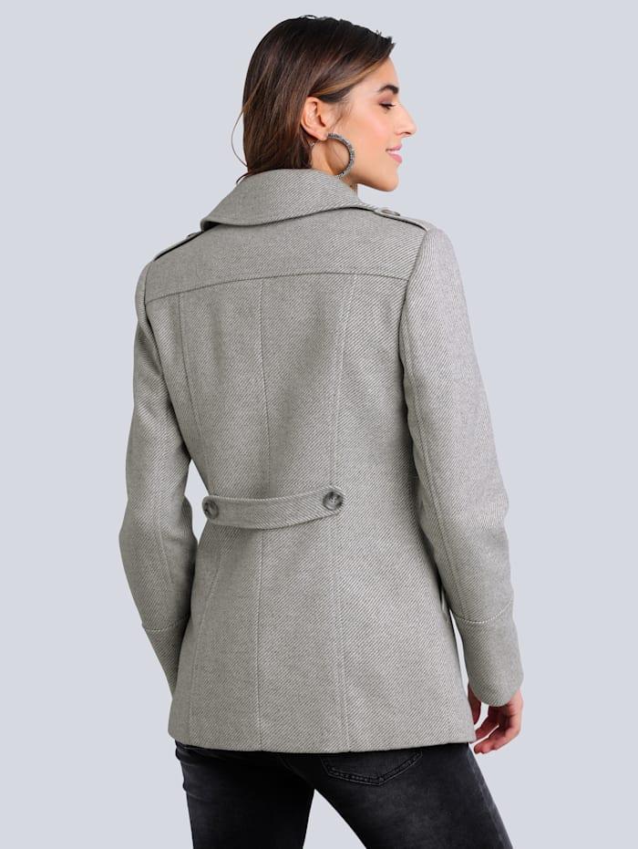 Jacke aus strukturierter Qualität