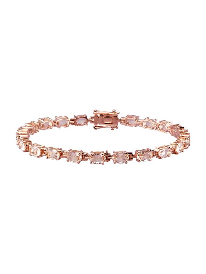 Armband met morganieten, Roze