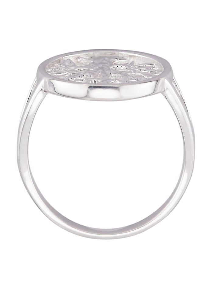 Lebensbaum-Ring in Silber 925