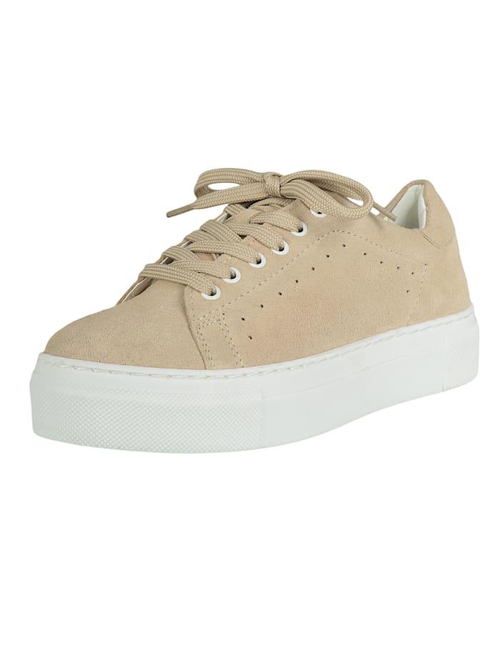 COX Plateau-Sneaker Plateau-Sneaker, beige