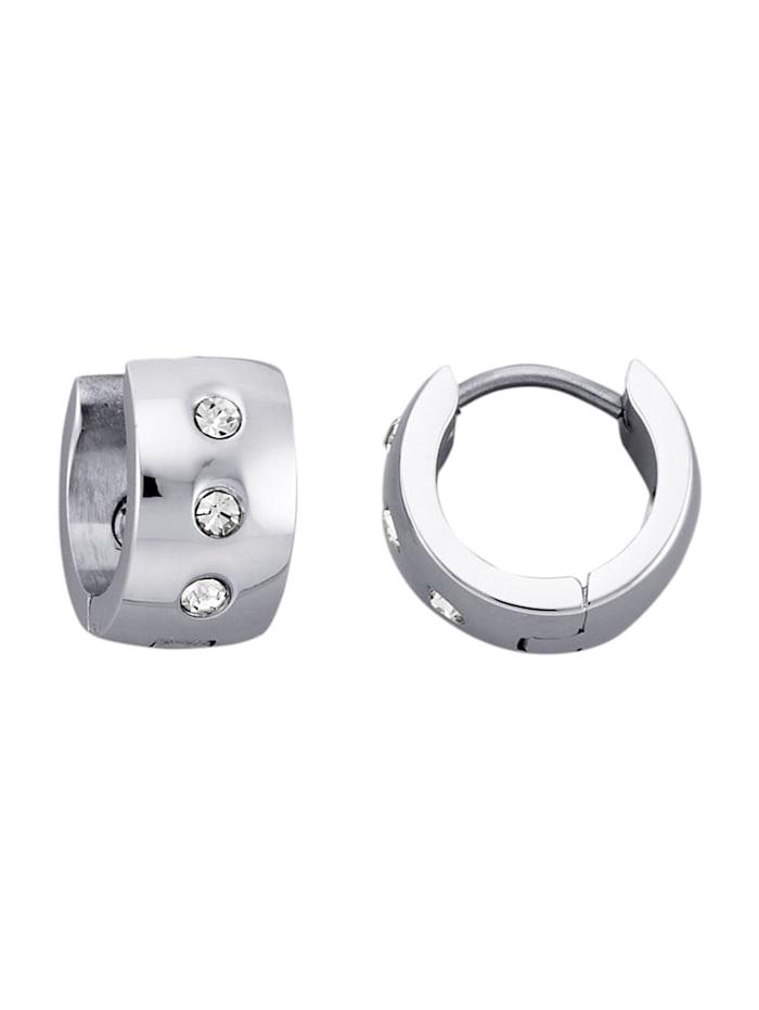 Magnetic Balance Klapcreolen, Zilverkleur