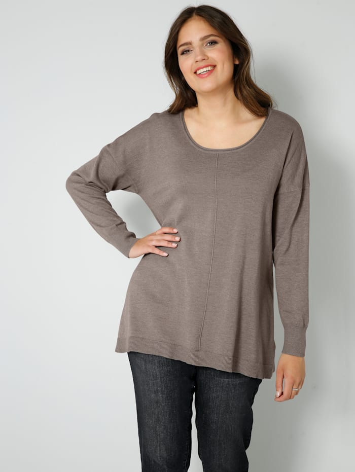 Janet & Joyce Pullover, Taupe