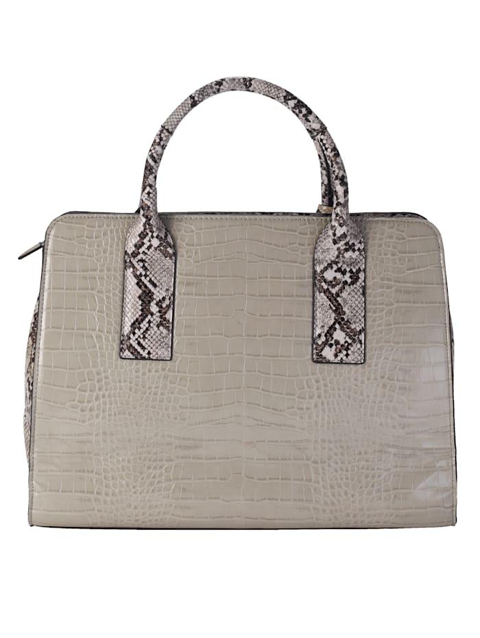 Handbag with embellishments
