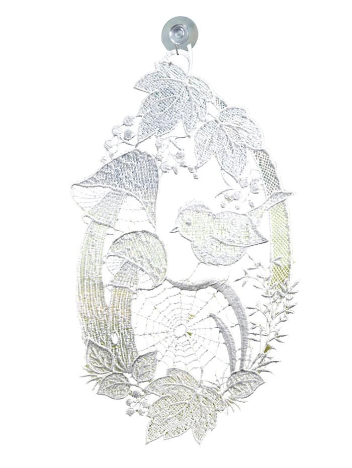 Raebel Vindusdekorasjon, hvit